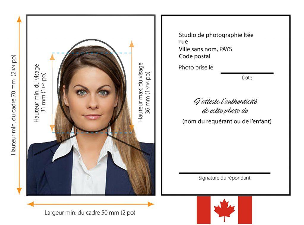photo passeport canada
